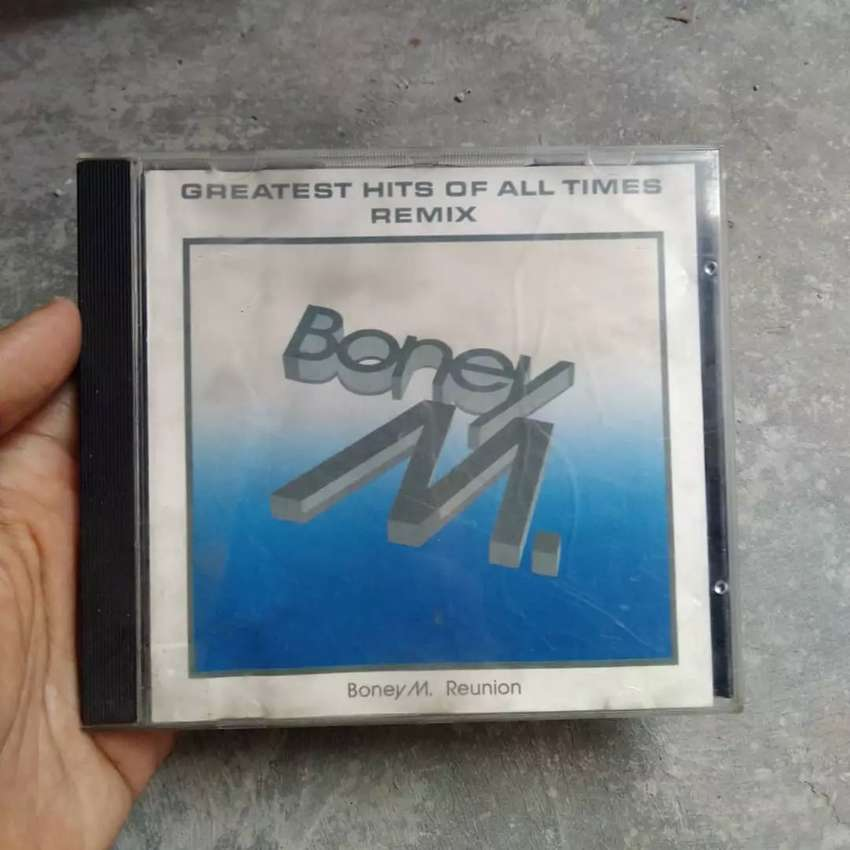 CD lagu musik Boney M