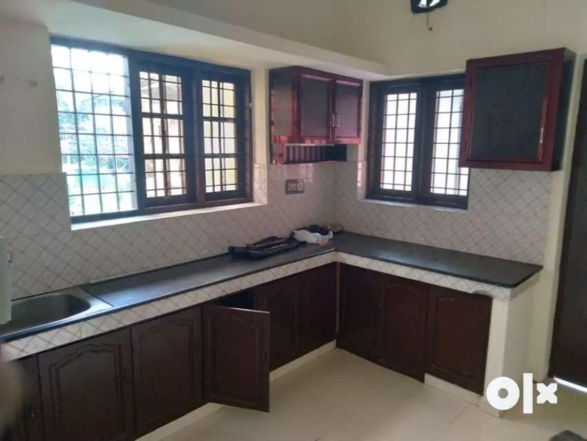 2BHK NEAT & CLEAN HOUSE FOR RENT (FIRST FLOOR) NEAR EDAPALLY  CHURCH
