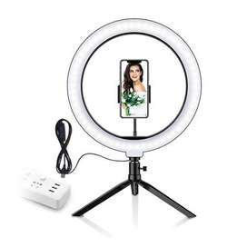 26CM LED YOUTUBE TIKTOK RING LIGHT 3 ADJUSTIBL COLOR With mobil holder