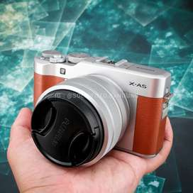 Fuji XA5 kit 15-45mm. Mulus. Murah banget. Fujifilm