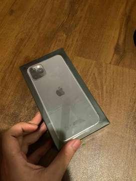 """IPhone 11 Pro Max 64GB Grey IBOX """" BNOB Garansi panjang"""""""