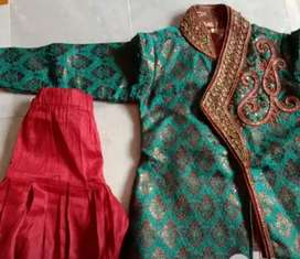 Heavy Sherwani for 2 to 4 years kid