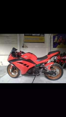 Bali dharma motor jual Kawasaki ninja fi tahun 2014
