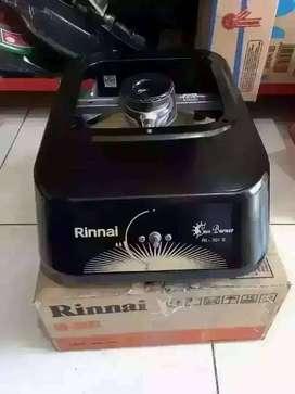 PROMO-GRATIS ANTAR SEYK-KOMPOR GAS 1 TUNGKU RINNAI RI301S-SUN BURNER