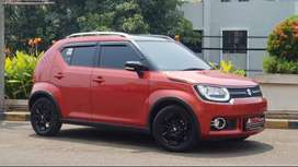 Suzuki Ignis GX AGS AT 2018 Red On Black Mulus!!!