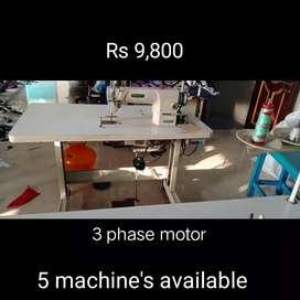 Sewing machine 3 phase motar