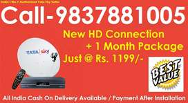 Super Sale Offer- Tata sky DTH -Airtel Dish tv D2H Tatasky - All India