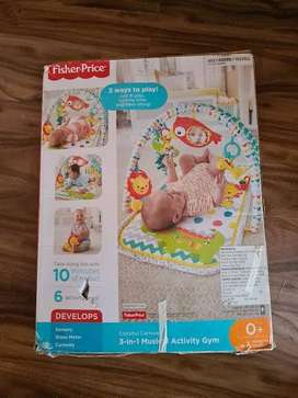 FISHER & PRICE MUSICAL ACTIVITY MAT