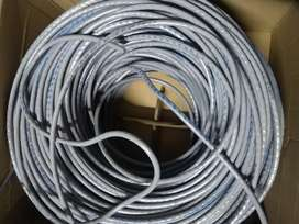 INTERNET WIRE CAT 6 LOOSE (CUT PIECES) AVAILABLE RS:15/YARD