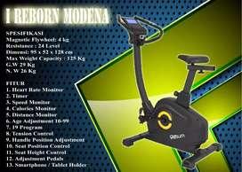 Alat Fitness sepeda magnetic listrik