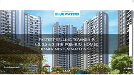 #(all incl)54 Lacs% flat 2BHK for sale/ in Baner Mahalunge