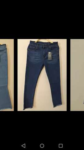 Export quality ladies jeans with free shipping