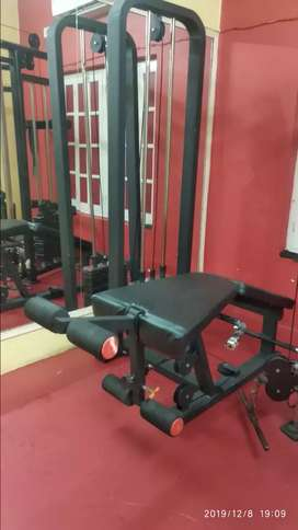 Leg curl and extention machine