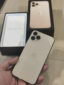 Iphone 11 Pro 64 GB Gold Mulus Super Murah Jaya !