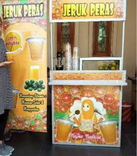 tempat buat meja portable murah event desk bagus area Solo Raya