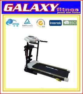 Alat fitnes//alat olahraga//galaxi 113 treadmil