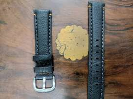 Original Hugo Boss Real Leather strap brown colour 21mm in 1500 rupees