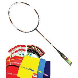 raket badminton lining ss8 g5 dark grey/orange