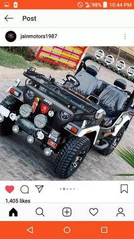 New open jeeps modified BALWINDER Motors