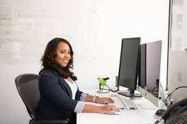 Female Front office Manager