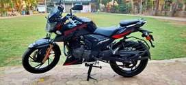 2020 TVS Apache 200 RTR RED BLACK SHOWROOM CONDITION LOAN AVAILABLE