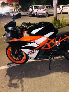 Only 2 Months old KTM RC 390CC ABS BRAKES 3300KM