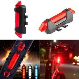 TaffLED Defensor Lampu Sepeda 5 LED Taillight Rechargeable - DC-918