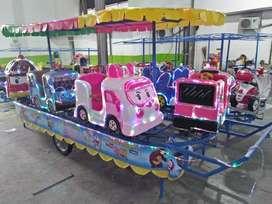 Wahana mainan odong mini coaster panggung RAA panggung