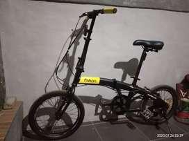 Sepeda Lipat Ukuran 18