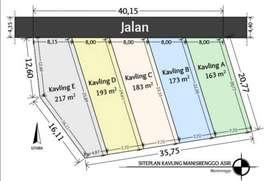 Tanah Dijual Prambanan Strategis Murah Hanya 130JUTA
