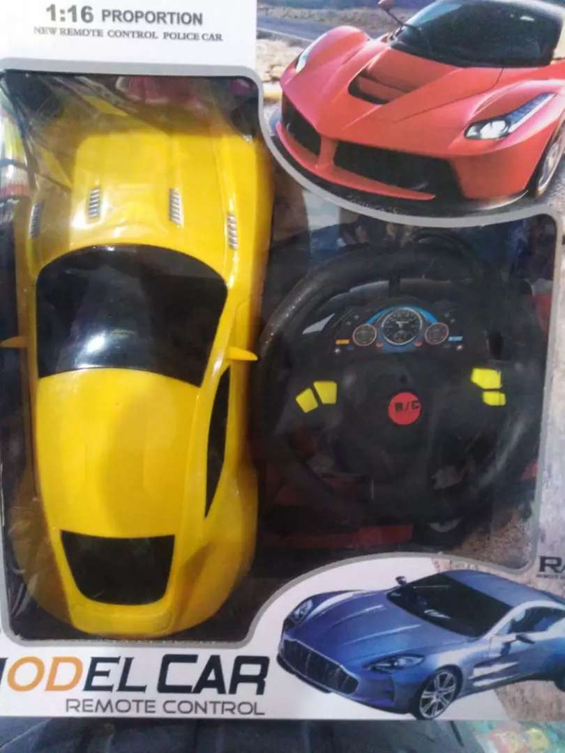 Remote car with radio control professional sport car look 0