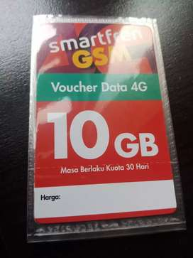 Voucher kuota smart 10 Gb