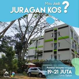 Dijual Apartemen Kos Syariah Murah di IPB Bogor Income 20 Jutaan/Tahun