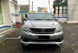 Fortuner G luxury matic bensin 2015 plat D bandung