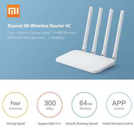 Xiaomi Mi WiFi Router 4C 64 Ram 802.11 BGN 300 Mbps Repeater Extender