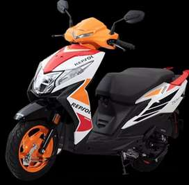 HONDA DIO DLX REPSOL BS6 NEW VEHICLE PAY Rs. 7777/-