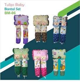Set Bantal Bayi Dengan Guling Bahan Berkualitas Kode:BM-06