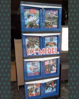 Lemari Anak Plastik - JX MEBEL Pku