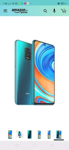 Note 9 pro max 6/64 Aurora Blue colour