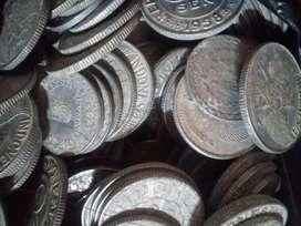 Uang logam lama campur apa adanya ada 400keping