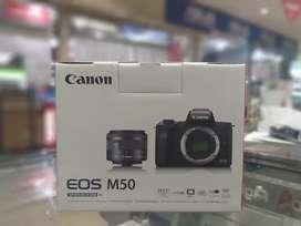 Kredit Kamera Mirrorless CANON EOS M50