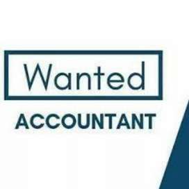 Exp female accountant with tally knowledge timing 10 am to 5 pm.