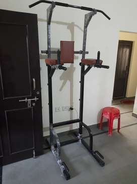 Multiple gym pull up stand