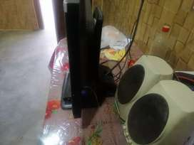 Hy lcd and dany tv card with jazz speakers