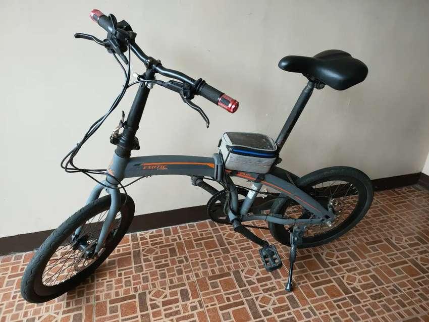 Sepeda lipat exotic by pacific + motor listrik torque kit micro hub