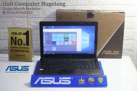 Asus A44H Intel Core i3 Fullset + Tas