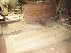 pintu jati perhutani papan tebal