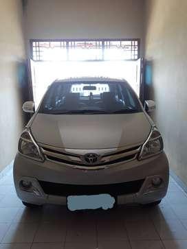 Toyota Avanza tipe G 2015 manual