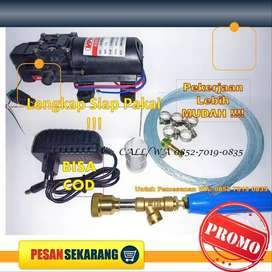 Dinamo Pompa Air DC 12 V– Steam Motor Mobil AC- Sprayer Water Pump