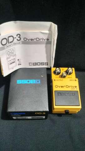Efek Gitar Stompbox, Boss Overdrive (OD-3).